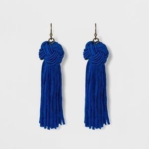 Sugar fix by Baublebar Knotted Tassel Earrings